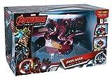 MTW Toys 20732-Marvel Avengers, Iron Man RC U de Command Moto, teledirigido
