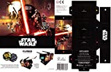Rewe STAR WARS Cosmic Shells FILMBOX rarr SELTEN must have Artikel + WIZUALS STICKER