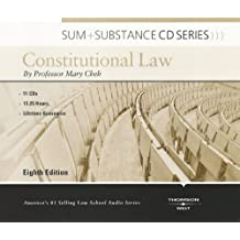 Cheh's Sum and Substance Audio Constitutional Law, 8th (CD)