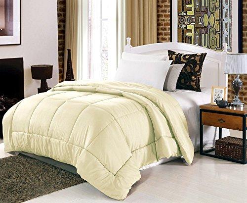 Linenwalas Classic Microfibre Single Bed Duvet/Comforter- Beige