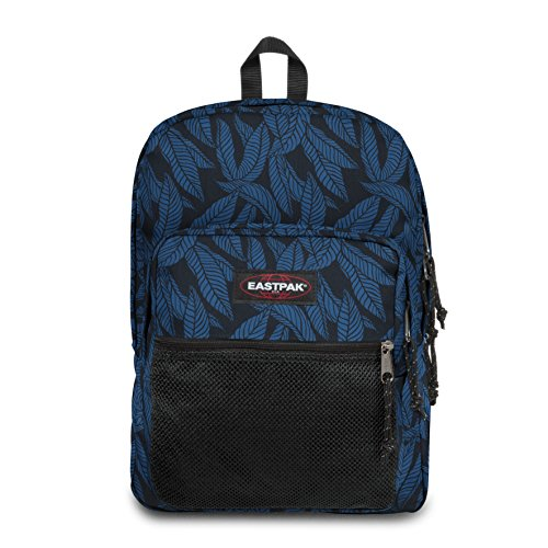 Eastpak Pinnacle Sac à  dos, 42 cm, 38 L, Bleu (Leaves Blue)