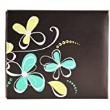Pinnacle Frame Embroidered Floral Scrapbook Album, 8 by 8-Inch by Pinnacle Frame