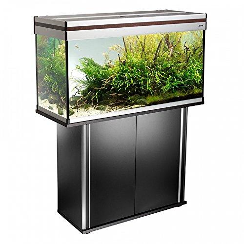 acquario-aludekor-rect-100-cm-200l-completo-di-mobile-nero-luce-239w-t5-aquael