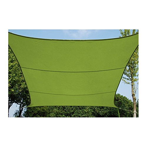 Provence Outillage 07327 Toile d'Ombrage Vert 3 X 4 m