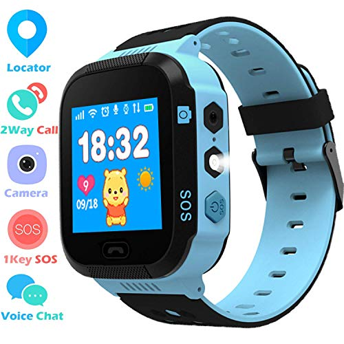 Niños Smartwatch - GPS/LBS Position Tracker Child