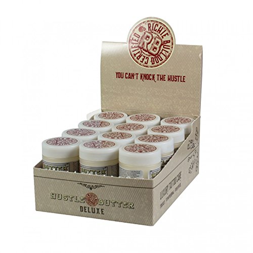 24x Hustle Butter Deluxe 1oz 30ml Tattoopflege - Aftercare Tattoo Creme Deluxe Butter
