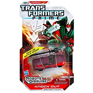 Transformers PRIME deluxe KNOCK OUT figure