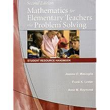 Title: Mathematics for Elementary Teachers via Problem So