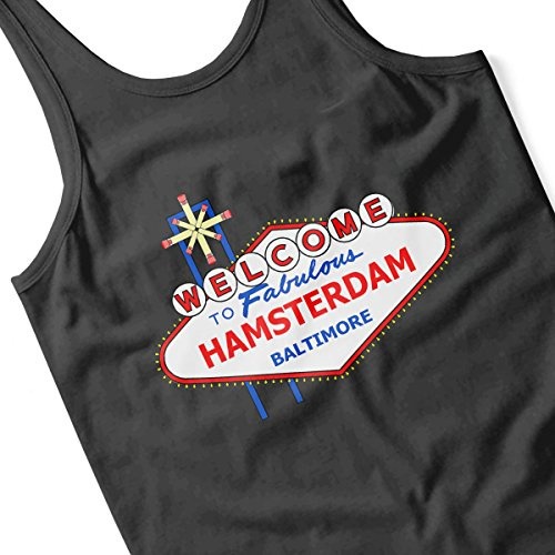 Viva Hamsterdam The Wire Las Vegas Men's Vest Black