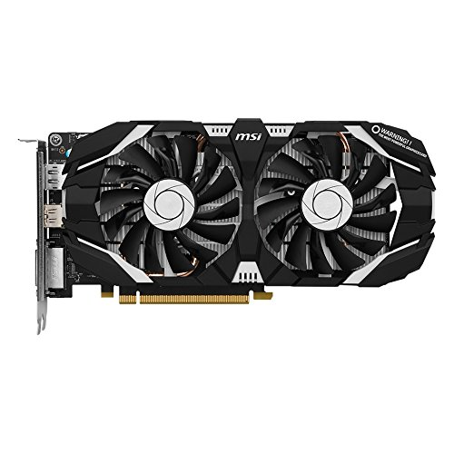 MSI GeForce GTX 1060 6GT OCV1 6GB Nvidia GDDR5 1x HDMI - 2