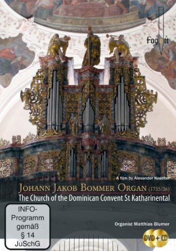 Johann Jakob Bommer-Orgel (1735/36) - Die Kirche des Dominikanerinnen-Klosters St. Katharinental, Schweiz