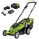 Best Cordless Lawn Mower Batteries - Aerotek Cordless 40V Series X1 Lawnmower Lithium-Ion Battery Review