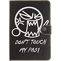 iPad Mini 1/2/3 Hülle,iPad Mini 1/2/3 Lederhülle,JAWSEU PU Leder Flip Karten Slot Schutzhülle Cool Lustig Spruch... preisvergleich bei billige-tabletten.eu