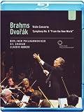 Brahms / Dvorak - Violin Concerto / Symphony No.9 [Blu-ray] [2011] [Region Free]