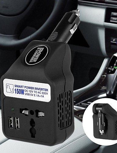 150W 12V a 220V AC Smart Power Inverter w /
