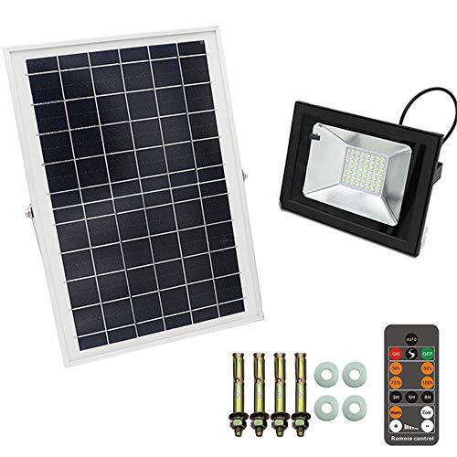 Hohes Lumen Imprägniern IP66 Im Freien 6 10 Watt Solar Führte Flutlicht Intelligente Fernbedienung,6W