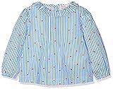 ZIPPY Baby-Mädchen Bluse Ztg0301_455_8, Blau (Victoria Blue 720), 86 (Herstellergröße: 18/24M)