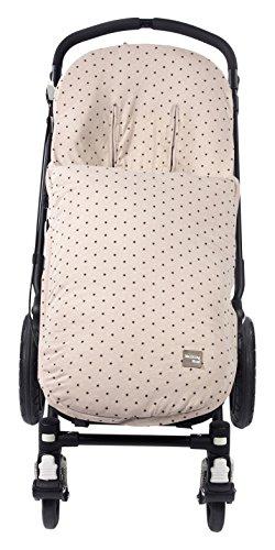 Walking Mum Gaby - Funda universal para silla con sacos de abrigo, color piedra