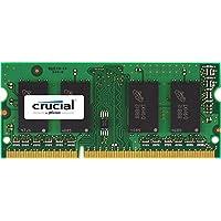 Crucial Memoria per Mac da 2 GB, DDR3, 1066 MT/s, (PC3-8500) SODIMM, 204-Pin - CT2G3S1067MCEU