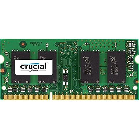 Crucial - Memoria RAM de 4 GB (DDR3, 1600 MHz)
