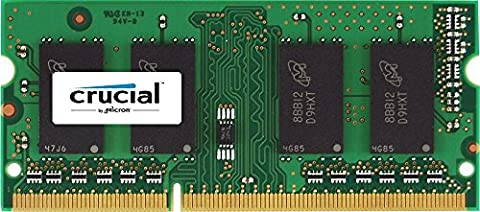 Crucial 4 GB DDR3L 1866 MT/s (PC3-14900) SODIMM 204-Pin (S 4 Sodimm Memoria)