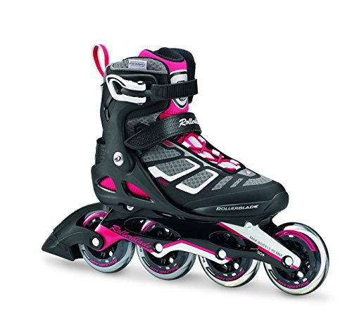 Rollerblade 07734300_9V1, Pattino in Linea Donna, Nero, 235 cm