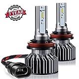 H11 LED Auto Lampen Scheinwerfer-Kit - Wakana 10400LM H11 CSP Chip LED Scheinwerfer-Kit Leuchtmittel Auto LED Umbau Kit 12 V 3 Jahre Garantie ersetzen für Halogen Lampen oder HID Leuchtmittel s6-h11