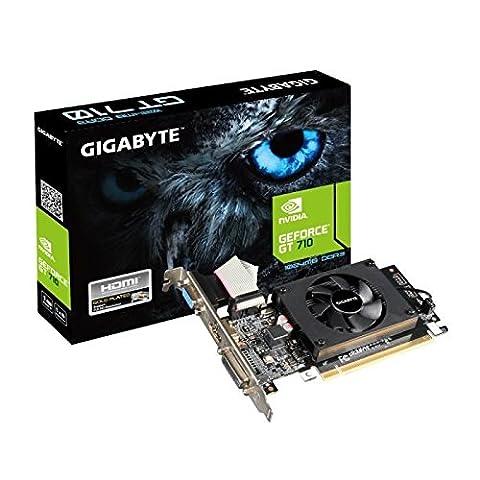 Gigabyte gv-n710d3–1G Grafikkarte NVIDIA GeForce GT7101800MHz 1GB PCI Express 2.0