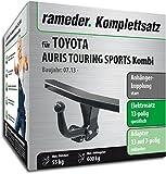 Rameder Komplettsatz, Anhängerkupplung starr + 13pol Elektrik für Toyota AURIS Touring Sports Kombi (117428-11280-2)