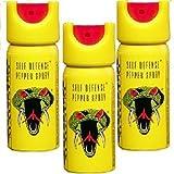 Cobra Self Defence Weapon Pepper Stream Spray Pack of 3