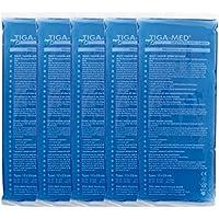 Preisvergleich für Kalt Warm Kompressen 5er Pack (= 5 Stück) Kompresse Cold Hot Pack 12x29cm blau, Kältekompressen Original Tiga-Med...