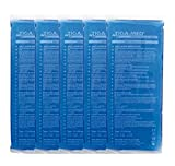 Kalt Warm Kompressen 5er Pack (= 5 Stück) Kompresse Cold Hot Pack 12x29cm blau, Kältekompressen Original Tiga-Med Qualität