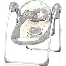 Babyschaukel DREAMDAY (vollautomatisch 230V) mit 8 Melodien und 5 Schaukelgeschwindigkeiten