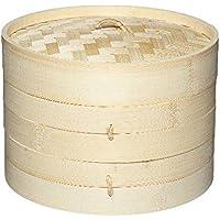 2 Livelli Di Bambù Piroscafo - Per