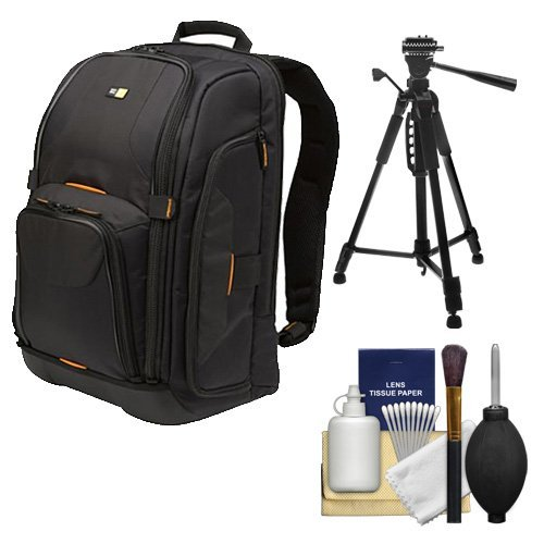 Case Logic Digital SLR Camera Backpack Case (Black) (SLRC-206) + Tripod + Accessory Kit for Sony Alpha DSLR SLT-A33, A35, A55, A57, A560, A580, A65, A77 Digital SLR Cameras  available at amazon for Rs.19699