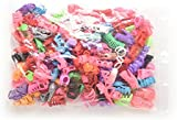 keepingup 30 Pairs Different High Heel Shoes Boots for Barbie Doll Dresses Clothes