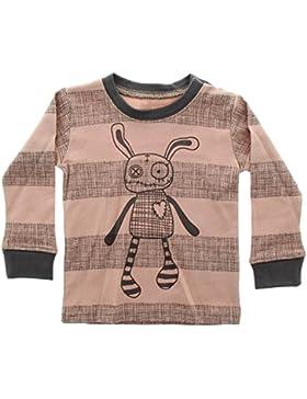 Small Rags unisex Langarm Baby- und Kindershirt, 100% Baumwolle