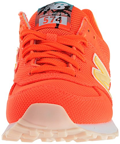New Balance Damen Wl574 Sneakers Sunrise/Pollen