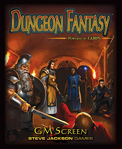 Dungeon Fantasy RPG Game Master Screen - Master Game Rpg