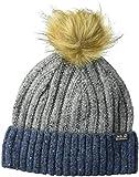 Jack Wolfskin Boys & Girls Merino Wool Faux Fur Bobble Hat Cap