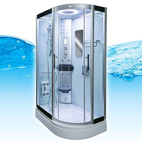 AcquaVapore DTP8060-7000R Dusche Duschtempel Komplett Duschkabine 80x120 - 3