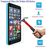 STCMW 3 pièces 9H Verre trempé Anti-Explosion pour Nokia Lumia 540 625 630 640 730...