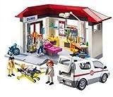 Playmobil 5012 - City Life - Jeu de construction - Centre médical et Ambulance