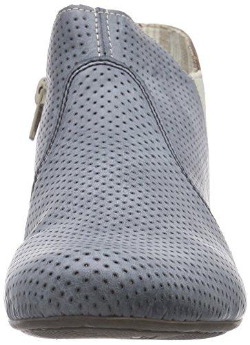 Rieker - 71975, Stivali Donna Blu (Blau (azur/ice/elefant / 12))