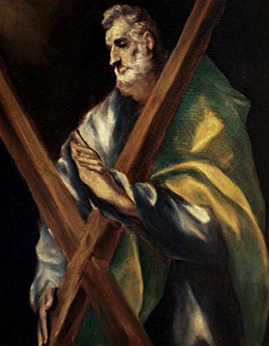 Impresin-artstica-Pster-El-Greco-St-Andrew-Impresin-de-alta-calidad-foto-pster-artstico-40×50-cm