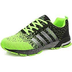 GUDEER Hombre Zapatos Para Correr EN Asfalto Aire Libre y Deportes Zapatillas de Running