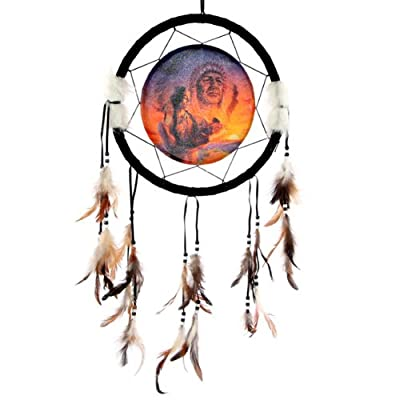 Decorative Native American Generations 34cm Dreamcatcher