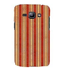 iFasho Design lines pattern Back Case Cover for Samsung Galaxy J1 (2016 Edition)