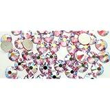 Swarovski Crystal Rose Ab (209 Ab Rhinestone Gems - Small Pack - 60 In Pack