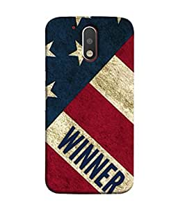 Fuson Designer Back Case Cover for Motorola Moto G4 :: Moto G (4th Gen) (Life Positive Attitude Achievement Men Male Boys)